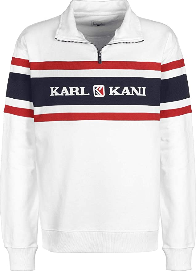 Karl Kani Retro Block  Sweatshirt Weiß Damen