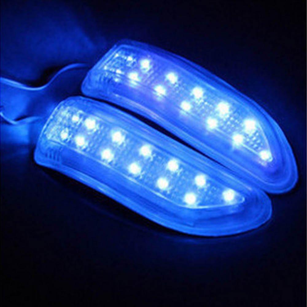 Universale anti-collisione LED indicatori di direzione Maker luci per auto specchietto retrovisore, 2.4 W 12 V morbido PVC auto modificato lampada con filo di 1.9 m (1 coppia) zicai