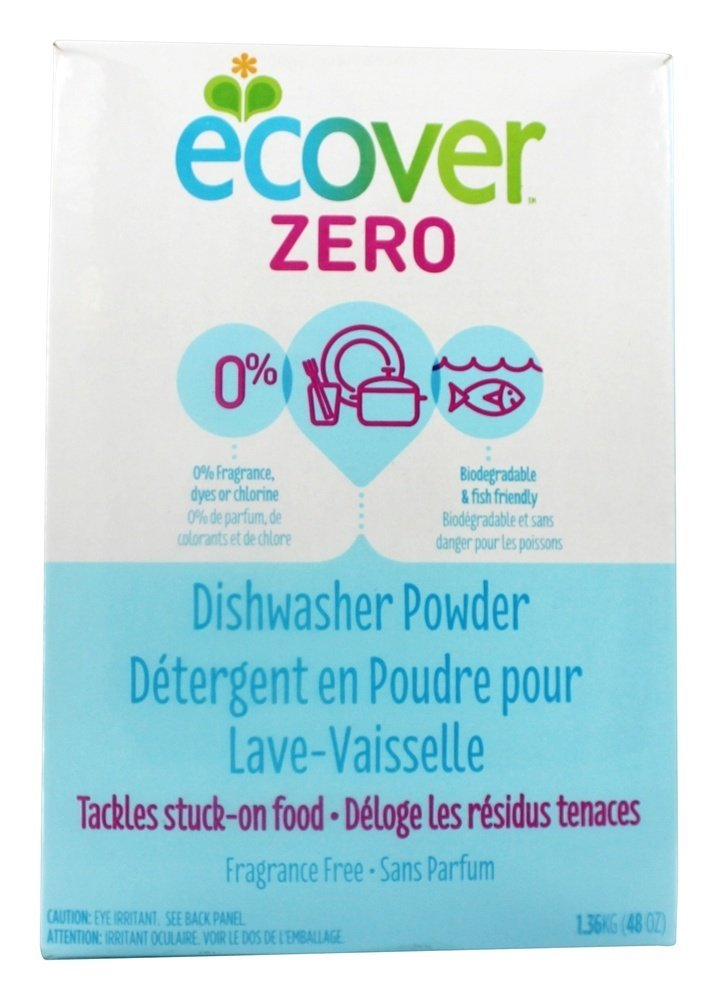 Ecover, Dishwasher Powder Zero, 48 Ounce
