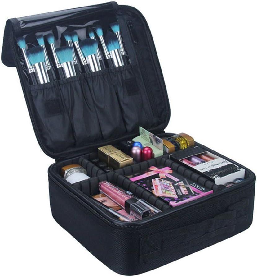J.Me.Mi Profesional Portátil Caso Organizador Bolsa Multifuncional Make Up Maquillaje Cepillo Organizador