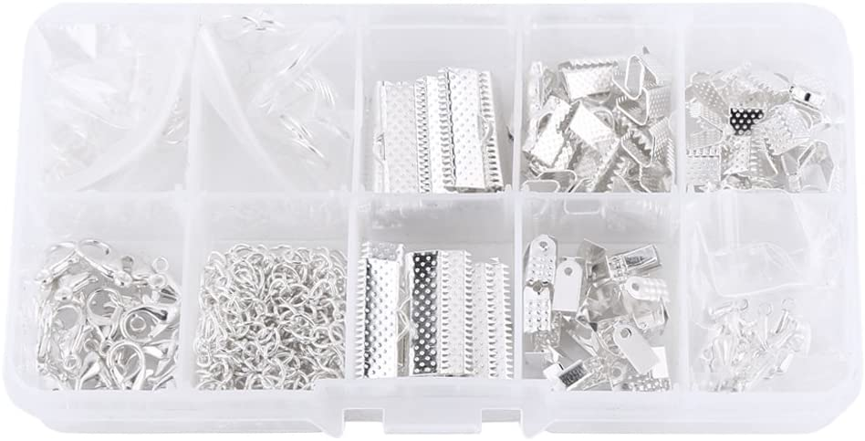 Jewelry Making Kits bronze Jewelry Findings Starter Kit Jewelry Beading Making and Repair Tools Kit with Accessories