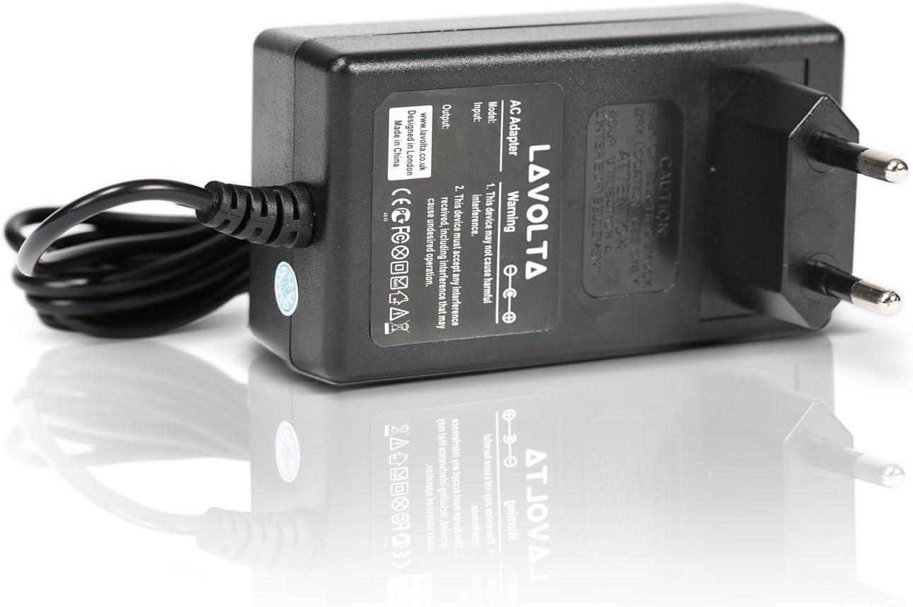 12V AC-DC Adapter Netzteil Ladegerät für ROLAND E-56 E-60 KEYBOARD TASTATUR