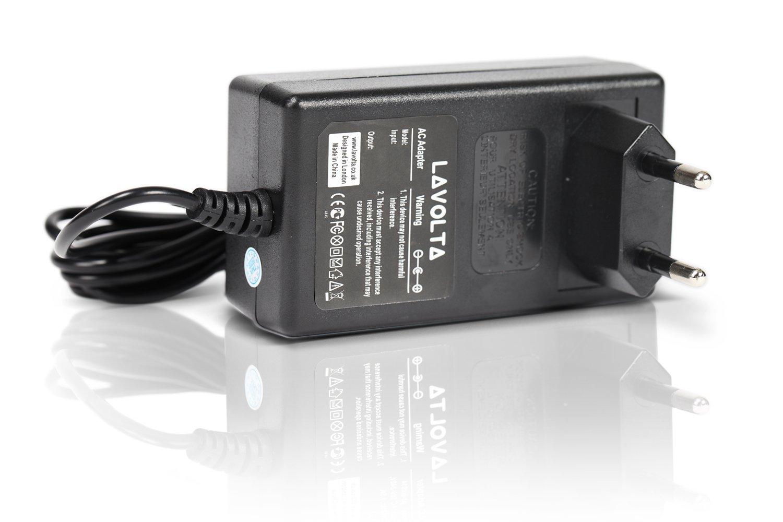 12/V Lavolta/® Cargador Adaptador para Yamaha Psr-100/Psr-11/Psr-110/Psr-12/Psr-125/Psr-130/Psr-140/Psr-15/Psr-150/Psr-16/Psr-160/Psr-172/Psr-18/Psr-180/PSR-185/F Psr-19/&nbs
