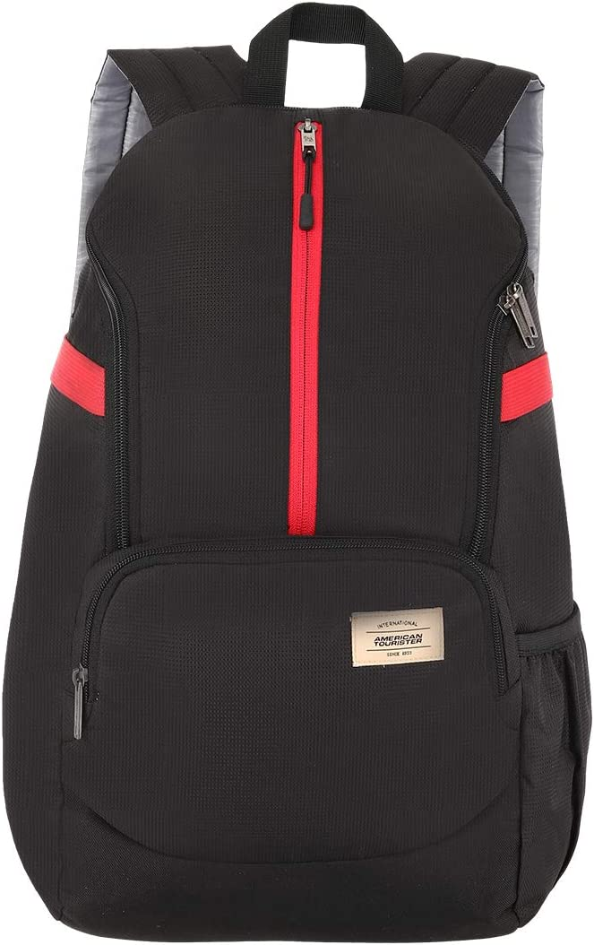 American Tourister Copa 22 Ltrs Black Casual Backpack