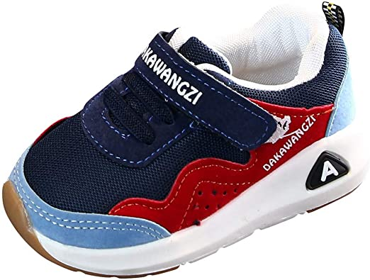 Kids Children Girls Toddler Running Breathable Sports Trainers Sneakers Shoes UK