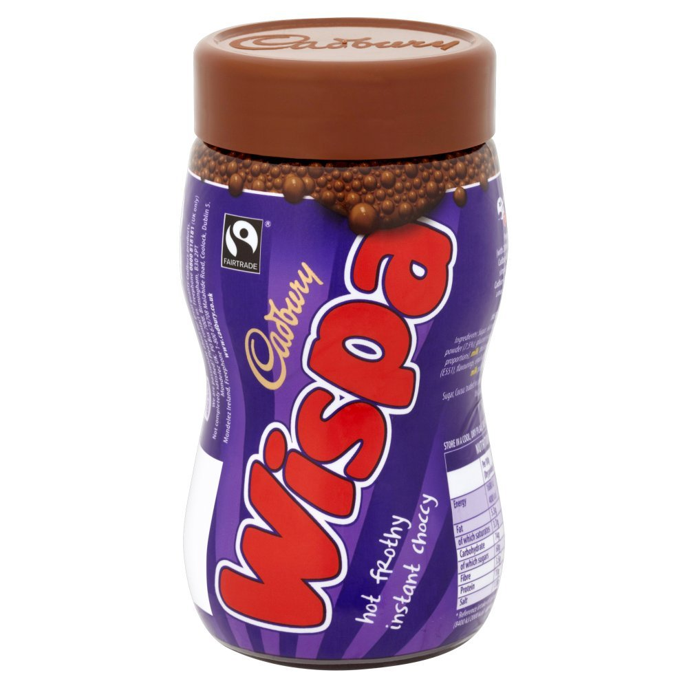 Cadbury Wispa Hot Chocolate, 246g