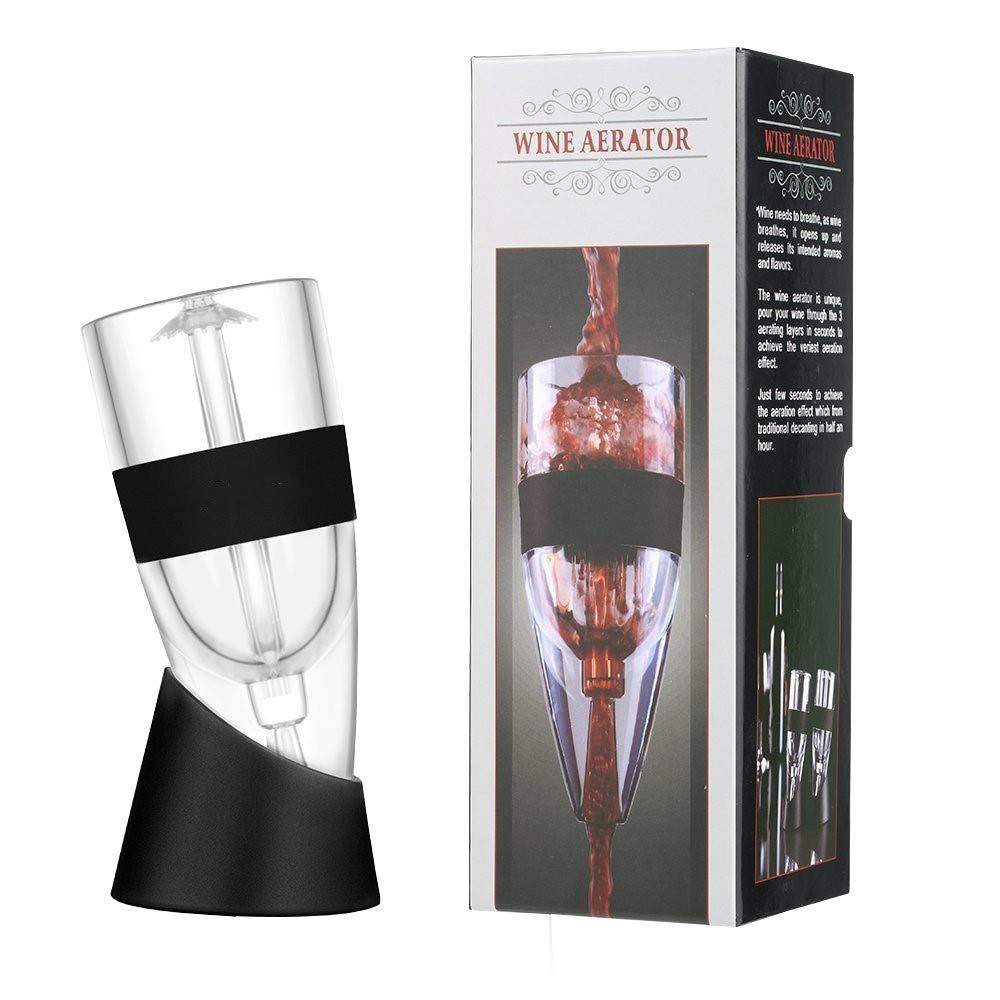 KICCOLY Wine Aerator Pourer Premium Aerating Pourer and Decanter Spout