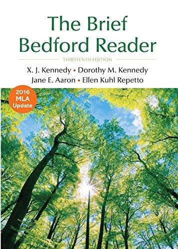 The Brief Bedford Reader - Kennedy X