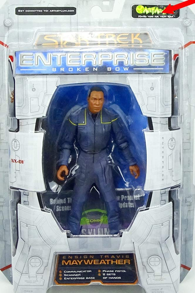 Ensign Travis Mayweather Star Trek Enterprise Broken Bow 6