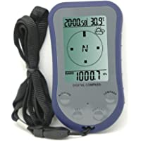 Misol Boussole numérique étanche LCD avec altimètre, thermomètre et baromètre