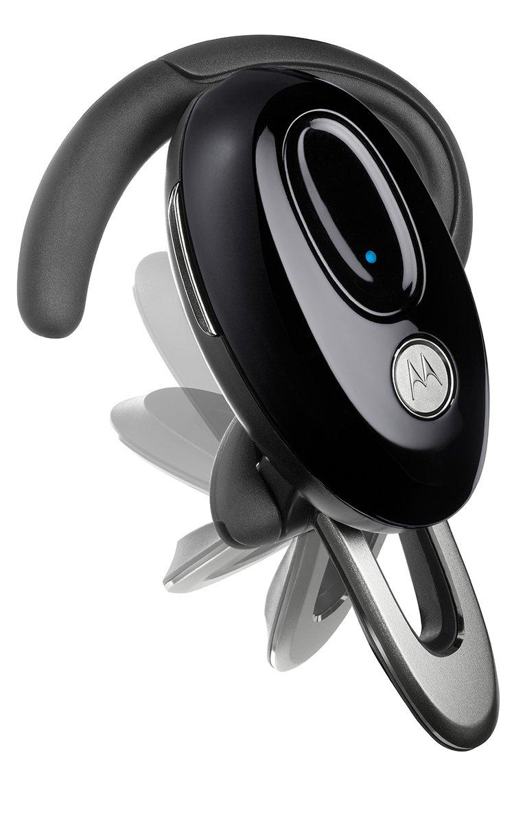 Motorola H720 Black Bluetooth Headset - Retail Packaging