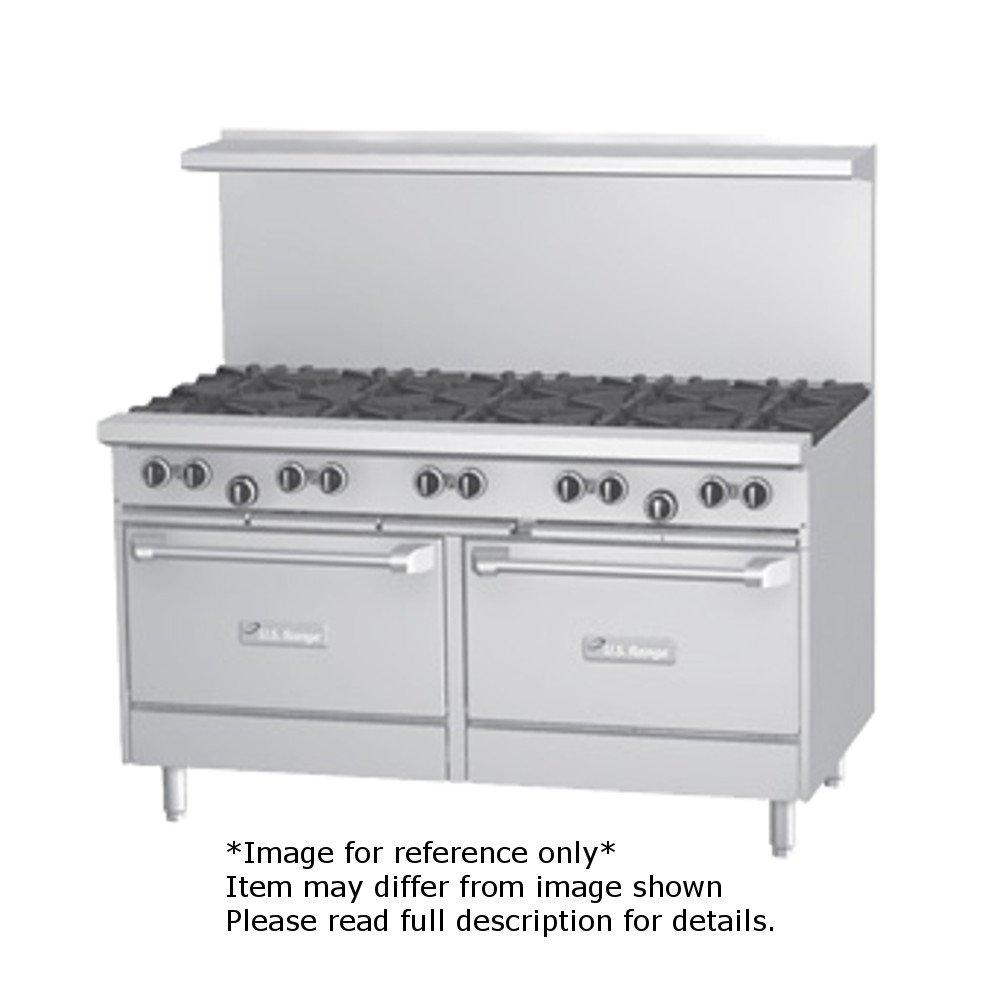 Garland U60-2G48RS U Series 60'' Gas Restaurant Range with (2) 32,000 BTU Open Burners, 48'' Griddle, (1) Standard Oven & (1) Storage Base by Garland/US Range