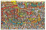 Where's Wally Toys, Toys, Toys Poster Gloss Laminated - 91.5 x 61cms (36 x 24 Inches)