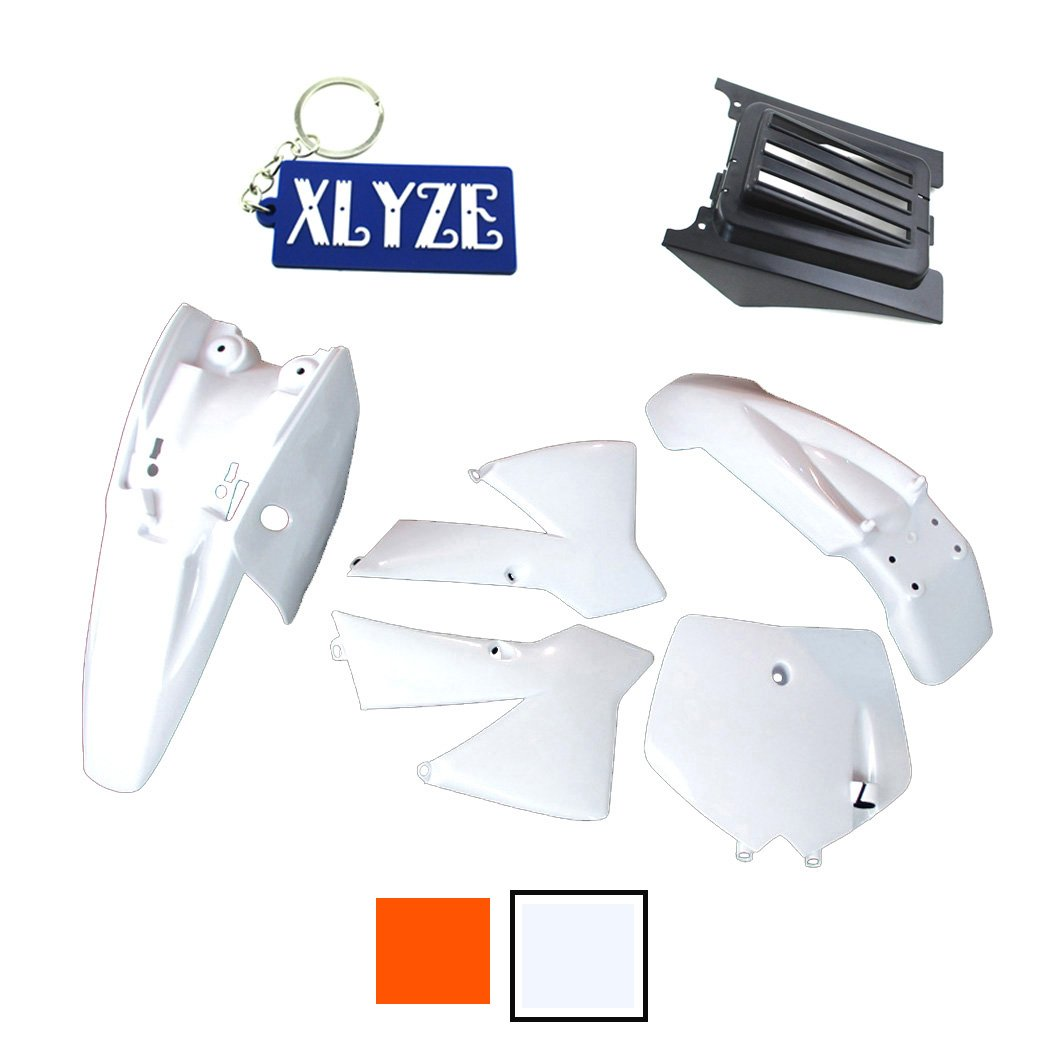 xlyze Plastic Fender Fairing Kit fü r KTM50  KTM50SX MT50  mtk50  Mini Senior Junior Adventure SX SR JR KTM 50  cc MT Dirt Bike orange