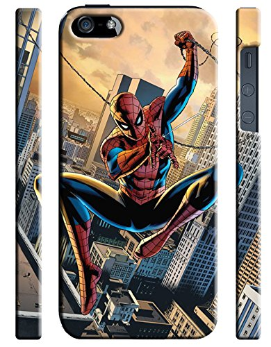 Spiderman for Iphone 5 5s Hard Case Cover (sm4)