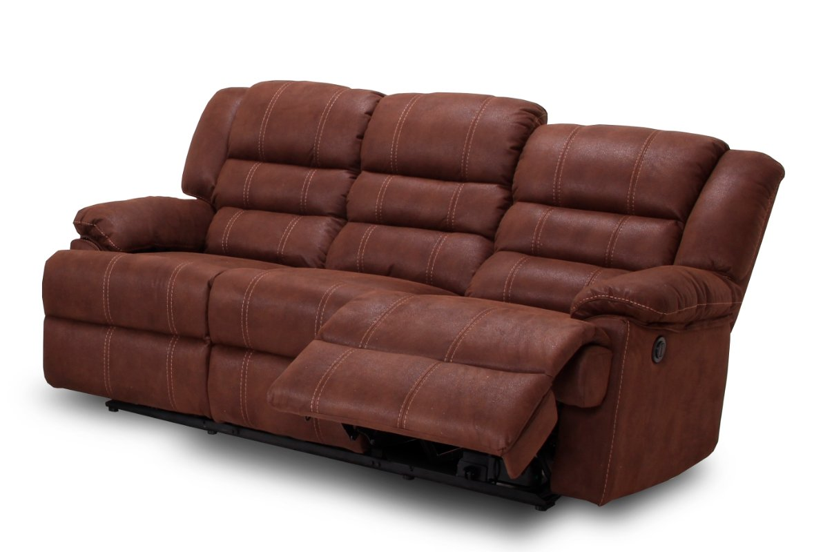 MUEBLES MATO - Sofas 3 plazas burgos reclinable: Amazon.es ...