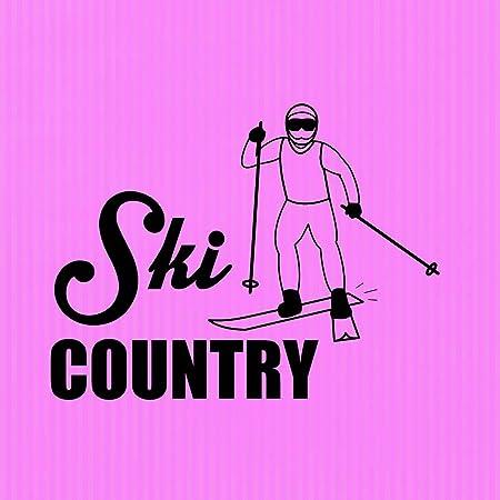 país de esquí