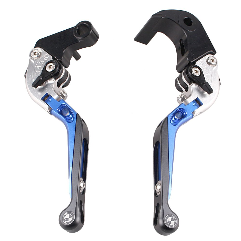 GZYF CNC Foldable Extendable Brake Clutch Levers for BMW S1000RR HP4 2013-2014