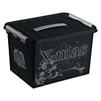 Sunware Q-Line Décor Christmas Boîte de Rangement pour Les Décorations de Noël