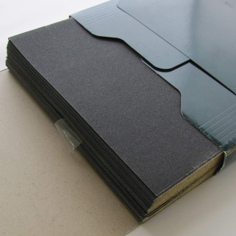 Sandpaper Grit 220   9'' x 11''   100 Sheets   Wet Dry   Wood Metal Automotive by eQualle