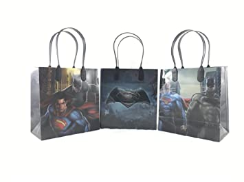 DC Batman Vs Superman 12 Pcs Goodie Bags Party Favor Gift Birthday Amazonde Spielzeug
