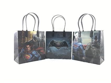 Amazon DC Comics Batman Vs Superman 12 Pcs Goodie Bags Party
