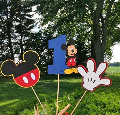 Mickey Mouse Age themed Table Topper centerpiece set -