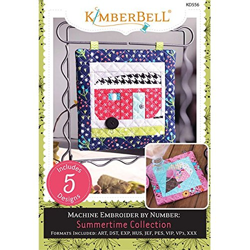 KIMBERBELL Embroidery CD: Summertime Collection KD556