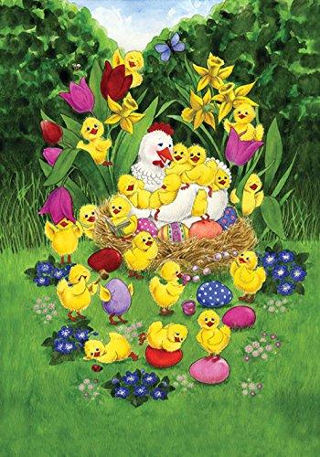 Toland Home Garden Easter Chicks 12 5 X 18 Inch Decorative