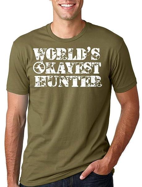 Silk Road Tees Hunter Camiseta de los Hombres de Caza Camiseta Divertida Regalo Fo Hunter: Amazon.es: Ropa y accesorios