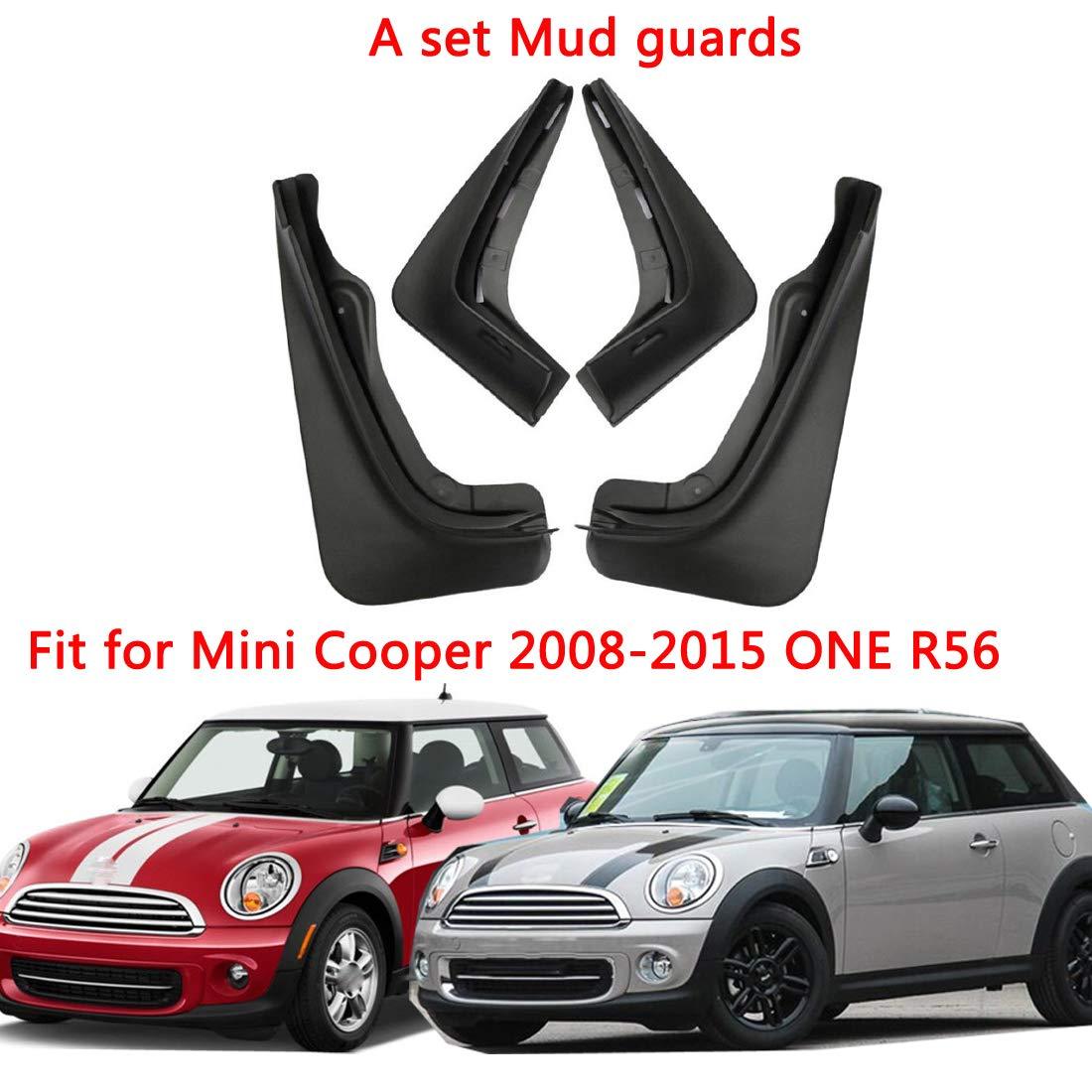 2015 One R56 GDsun Guardabarros de Guardabarros para Guardabarros de Coche para Mini Cooper 2008