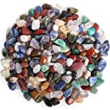 """Digging Dolls: 2 lbs Tumbled Natural Brazilian Stone Mix - Over 35 Stone Types - XXSmall - 0.25"""" to 0.75"""" Average Size - Perfect for Arts, Crafts, Gifts, Party Favors, Wire Wrapping and More!"""