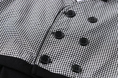 Baby Boy Gentleman Romper Toddler Vest Tuxedo Jumpsuit 1pc Formal Outfit Set