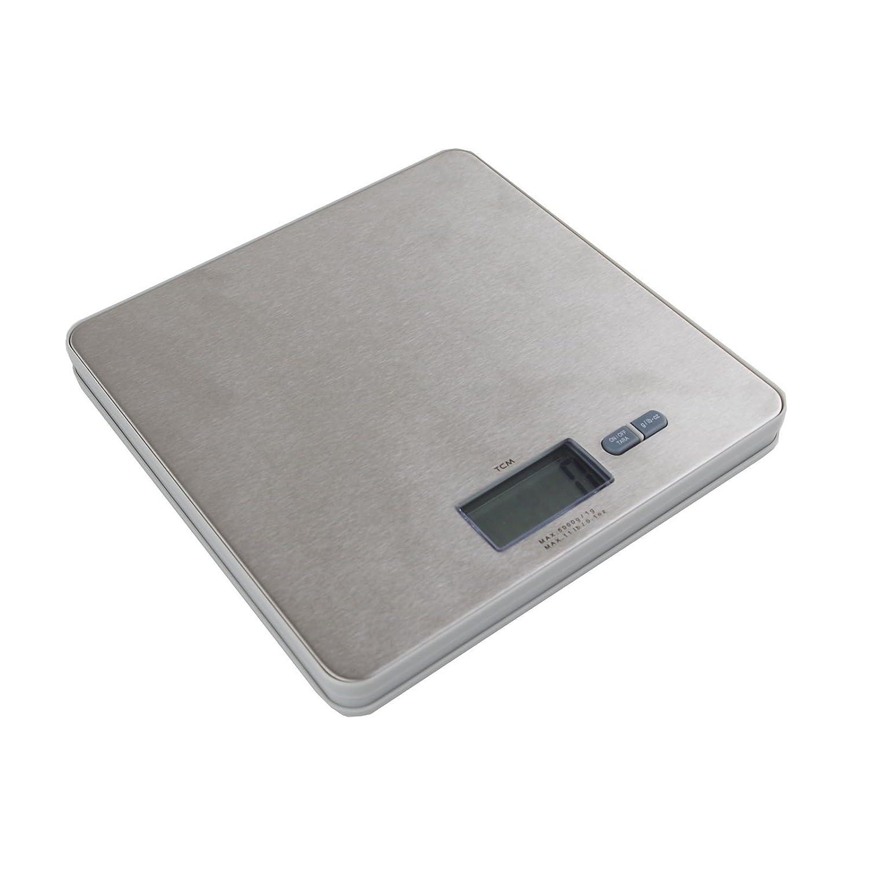 Báscula digital de cocina Báscula 5000 g/1g Acero Inoxidable ...
