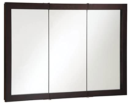 Excellent Design House 541367 Ventura Tri View Medicine Cabinet Espresso 48 Inch By 30 Inch Download Free Architecture Designs Sospemadebymaigaardcom