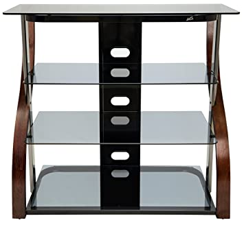 Bell O CW340 40 quot  Tall TV Stand for TVs up to. Amazon com  Bell O CW340 40  Tall TV Stand for TVs up to 42