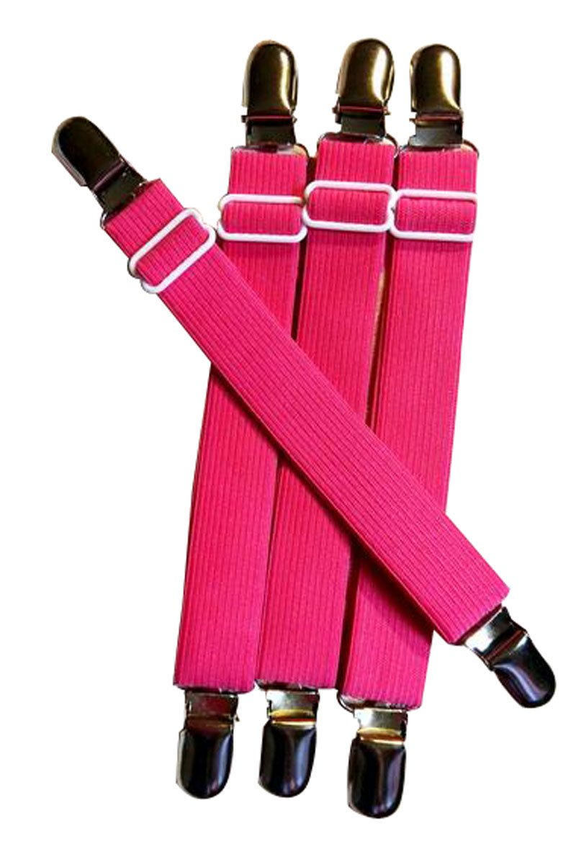 Glield Sheet Mattress Corner Straps, Bed Suspender Gripper/Holder/Fastener for Your Bed BDJ03R