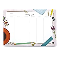 7mm™ Weekly Desk Pad (Desk), 60 Leaves, A4 Size, Printed