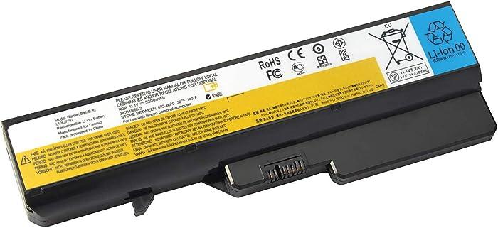 Rockety L09L6Y02 Lenovo Battery Compatible Lenovo L09S6Y02 IdeaPad G560 G460 Z370 B570 B575 Z560 Z575 V470 G475 G565 Z465 L09M6Y02 L10C6Y02 B480 G560E Laptop Computer Batteries(Full 2600mAh Cell)
