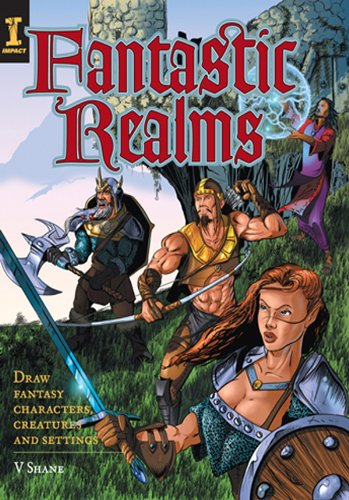 Download Fantastic Realms!: Draw Fantasy Characters, Creatures and Settings pdf epub