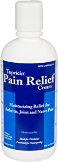 product image for Topricin Pain Relief Therapy Cream (8 oz) Pack of 2 Fast Acting Pain Relieving Rub for Arthritis, Back & Neck Aches, Fibromyalgia, Sciatica, Plantar Fasciitis, Sore Muscles & Joints