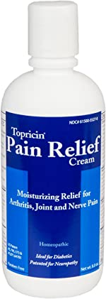 Topricin Pain Relief Therapy Cream (8 oz) Pack of 2 Fast