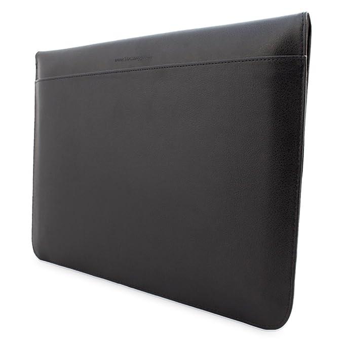 Snugg™- Funda de cuero para Apple MacBook Air y Pro 13, color negro (Garantía de por vida)