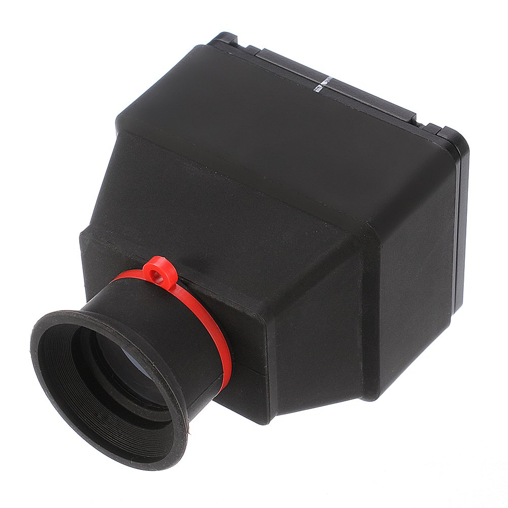 Fotga 3.2'' 3x Universal LCD Viewfinder Extender with Neck Strap for 3.2 Inch LCD Monitor Dslr Mirrorless Camera by FOTGA