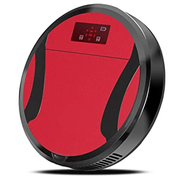 XLUOYI Sweeping Robot Home Smart Light And Quiet Vacuum Cleaner,Red-28cm*6cm: Amazon.es: Hogar