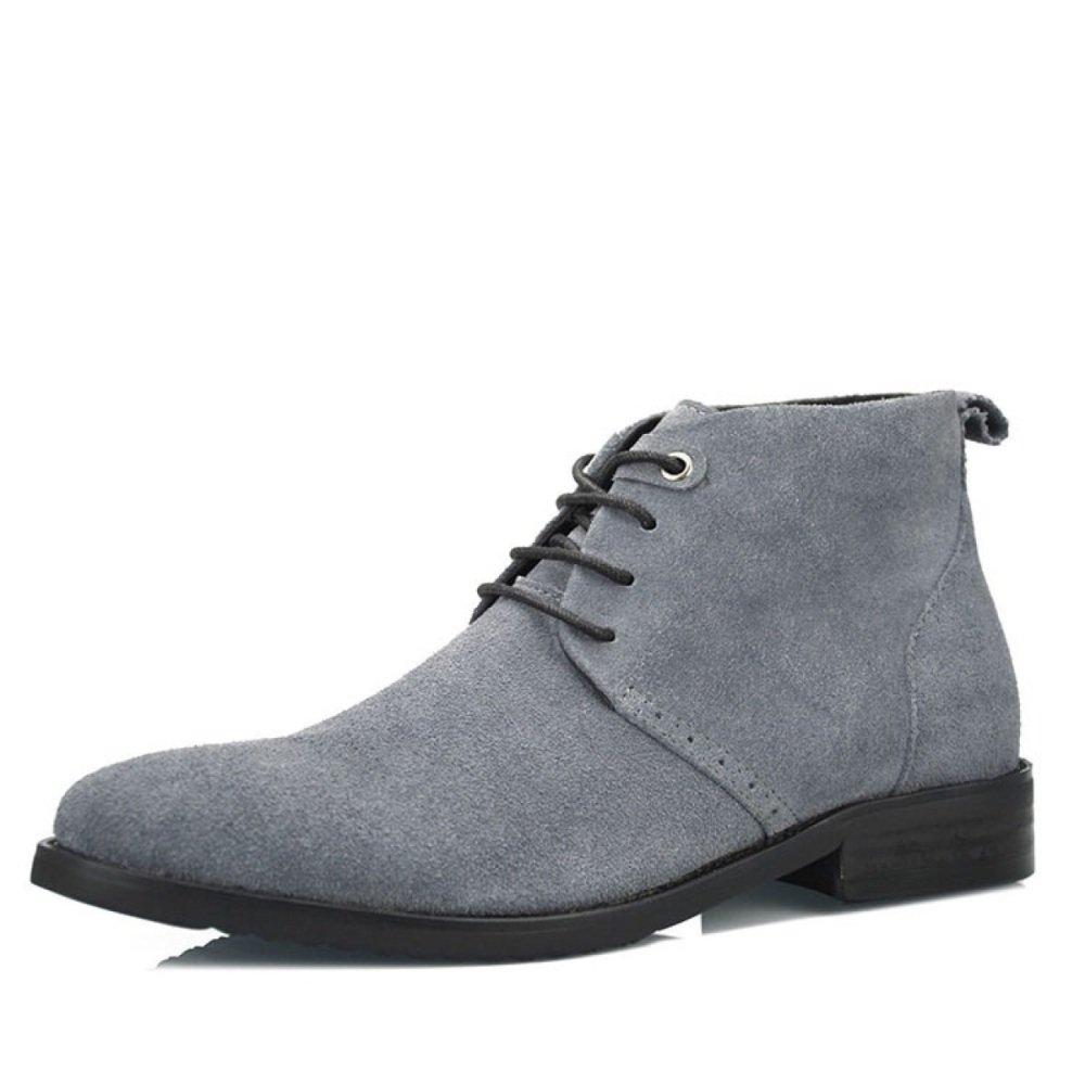 NBWE Britischen Herren Scrub Stiefel Geschäft Casual Bankett Schuhe