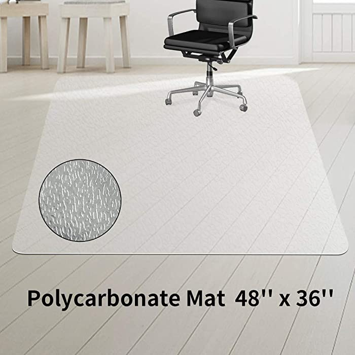 Top 10 Hard Floor Protectors For Office Chairs 36X48