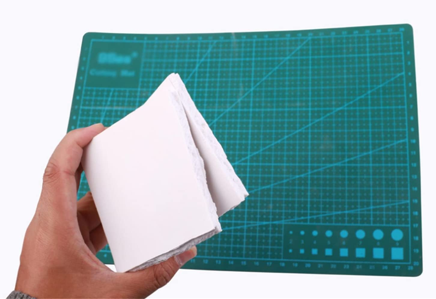 20cm/×30cm 30cm/×40cm Thickness 2-18mm Smooth Finish White For Craft Model Displays Signage Screen Printing Cosplay Expanded PVC Foam Board Sheet 5 Pieces