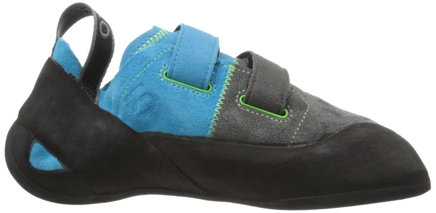 Five Ten Shoe Men's Rogue VCS Climbing Shoe Ten B00BFQ4ZJ0 4 D(M) US|Neon Blue/Charcoal 8b3389