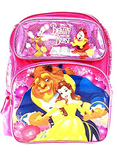 """2017 New Arrive Disney Beauty And The Beast 16"""" Pink Canvas"""